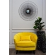 Дополнительное фото №4 - Кресло велюровое ZW-555-06476 желтое