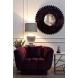 Дополнительное фото №3 - Кресло с подушкой ZW-81101 темно-фиолетовое
