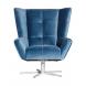 Дополнительное фото №0 - Кресло вращающее ZW-868 синее