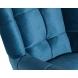 Дополнительное фото №1 - Кресло вращающее ZW-868 синее