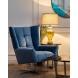 Дополнительное фото №4 - Кресло вращающее ZW-868 синее