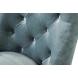 Дополнительное фото №1 - Стул 76AR-6210-MT Мятный / темный хром