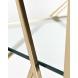 Дополнительное фото №2 - Стеллаж с прозрачным стеклом (золотой) GY-SH8711GOLD