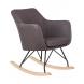 Дополнительное фото №1 - Кресло-качалка LM-3257 Серое