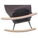 Дополнительное фото №8 - Кресло-качалка LM-3257 Серое