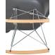 Дополнительное фото №6 - Кресло-качалка DAW ROCK LMZL-PP620A Серый