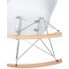 Дополнительное фото №6 - Кресло-качалка DAW ROCK LMZL-PP620A Белый