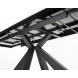 Дополнительное фото №5 - Стол ALEZIO 160 HYDRA MOKA TL-52 испанская керамика/ черный каркас