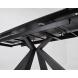 Дополнительное фото №4 - Стол ALEZIO 160 BIANCO TL-45 белый мрамор/ черный каркас