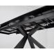 Дополнительное фото №4 - Стол ALTO 160 NERO KL-116 Черный мрамор матовый, итальянская керамика
