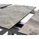 Дополнительное фото №5 - Стол ROVIGO 170 DARK GREY глянцевая керамика