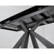 Дополнительное фото №6 - Стол ROVIGO 170 DARK GREY глянцевая керамика