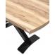 Дополнительное фото №3 - Стол KRIS TROPIC 120 см Орех / Черный