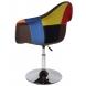 Дополнительное фото №1 - Кресло Eames Пэтчворк Mobil Red поворотное