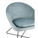 Дополнительное фото №3 - Кресло КОЛУМБИЯ Пыльно-голубое